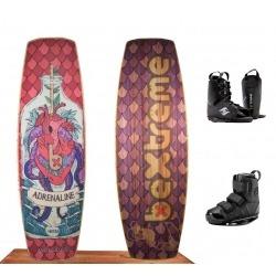 pack wakeboard + fijaciones