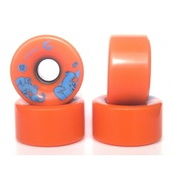 Longboard Wheels Glutier 65mm 86A