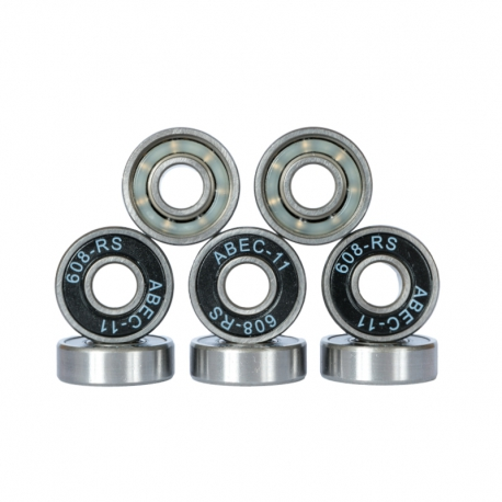 Longboard & Skate Bearings ABEC 11 Chrome