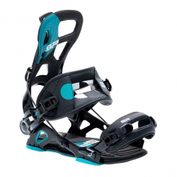 Snowboard Bindings SP Brotherhood Black L