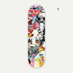 Skateboard decorative by Alberto Leon