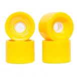 Longboard wheels Speed 78A Yellow BeXtreme