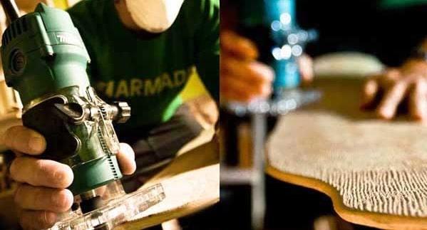 reparar longboard