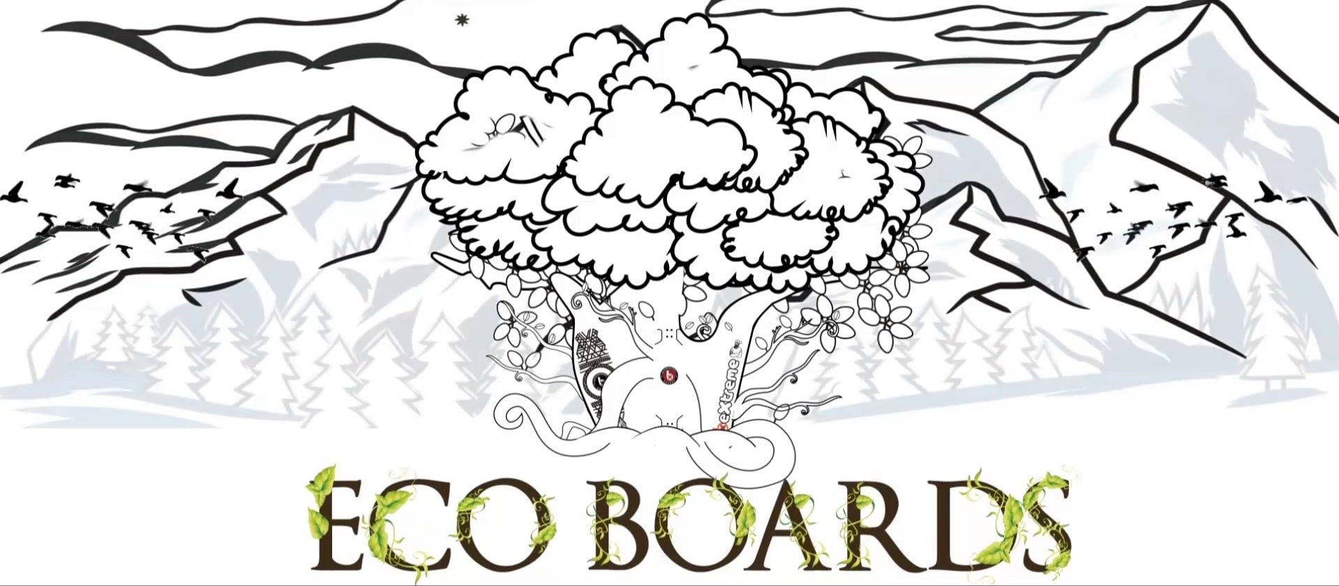eco-boards snowboards animacion