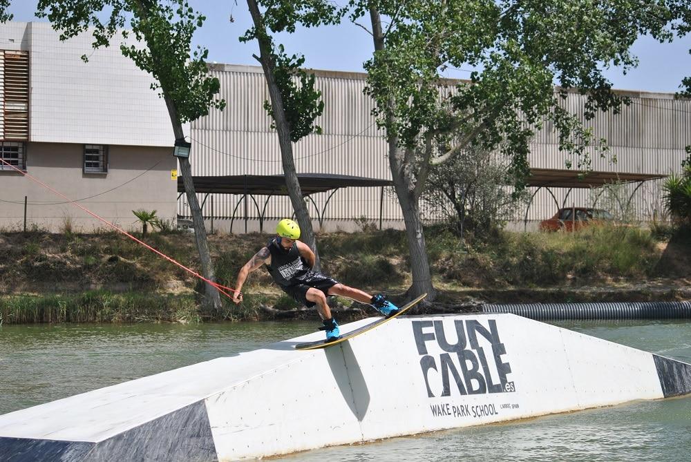 Rider de BeXtreme en el Fun Cable
