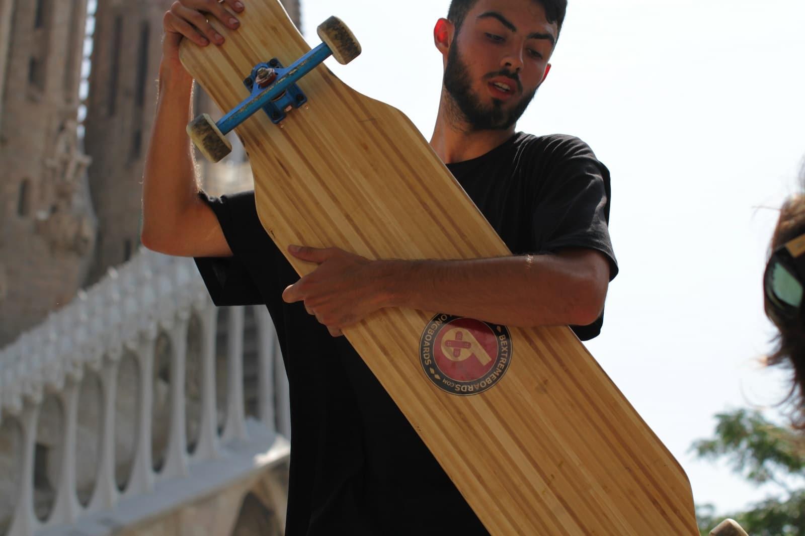 rider longboard Raimon Casellas