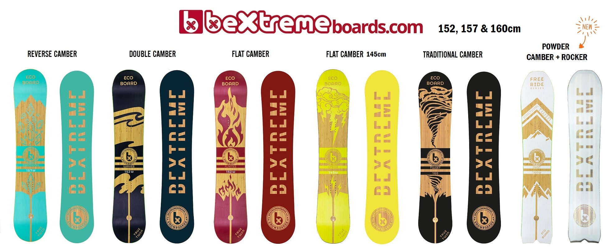 SNOWBOARDS BEXTREME 2019