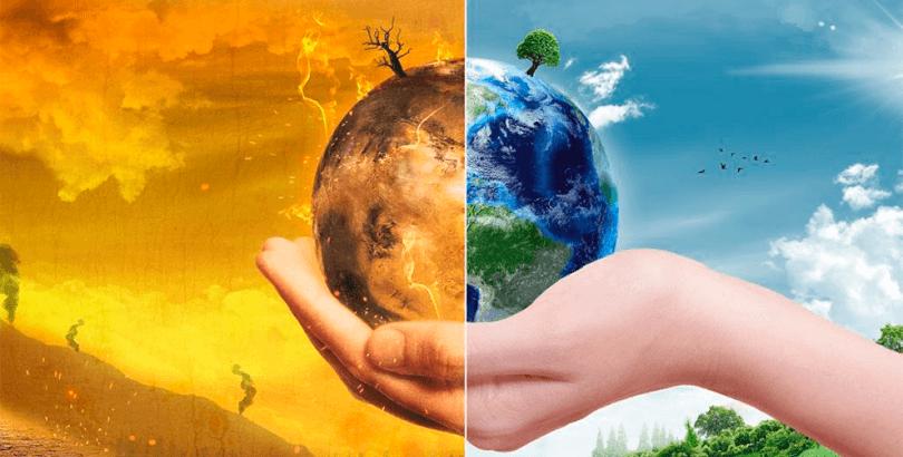 cuidar el medio ambiente y planeta tierra