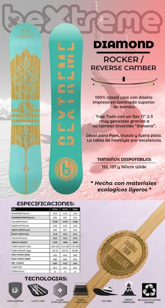 snowboard bextreme diamond