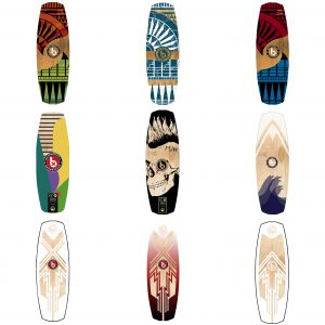 diseños wakeboard