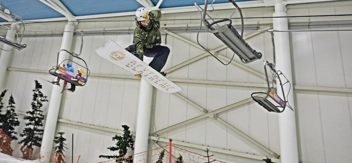 snowboard test xanadu