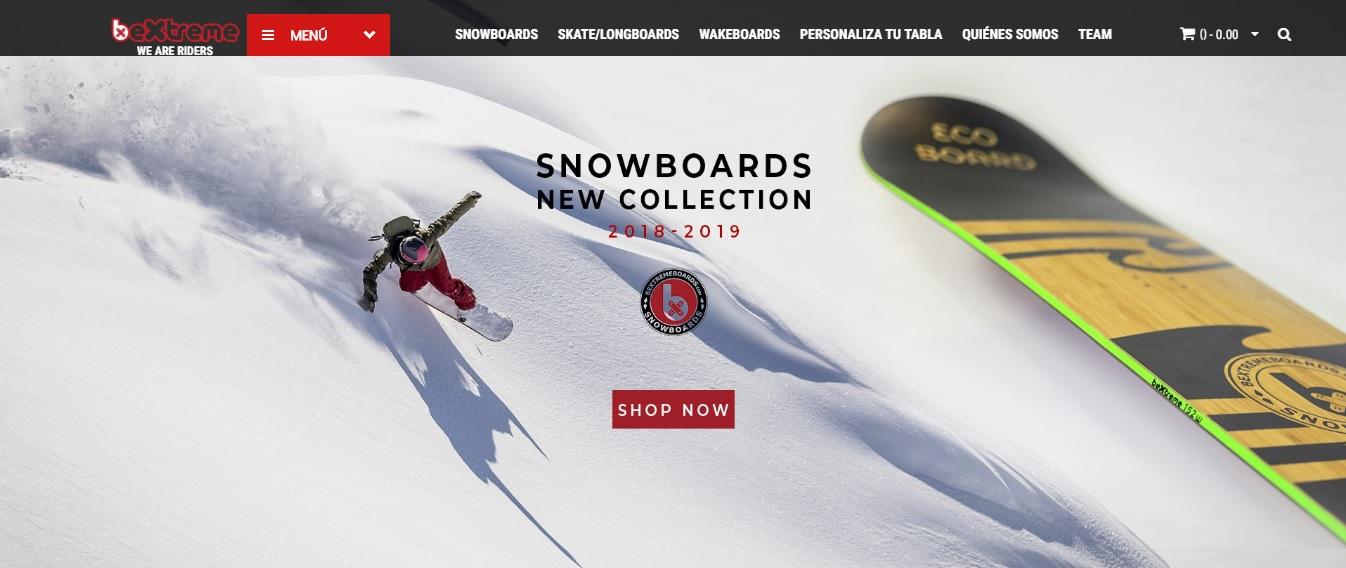tienda online snowboard