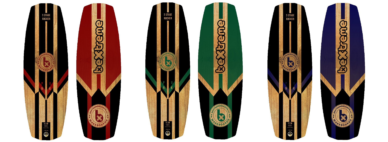 tablas wakeboard bextreme