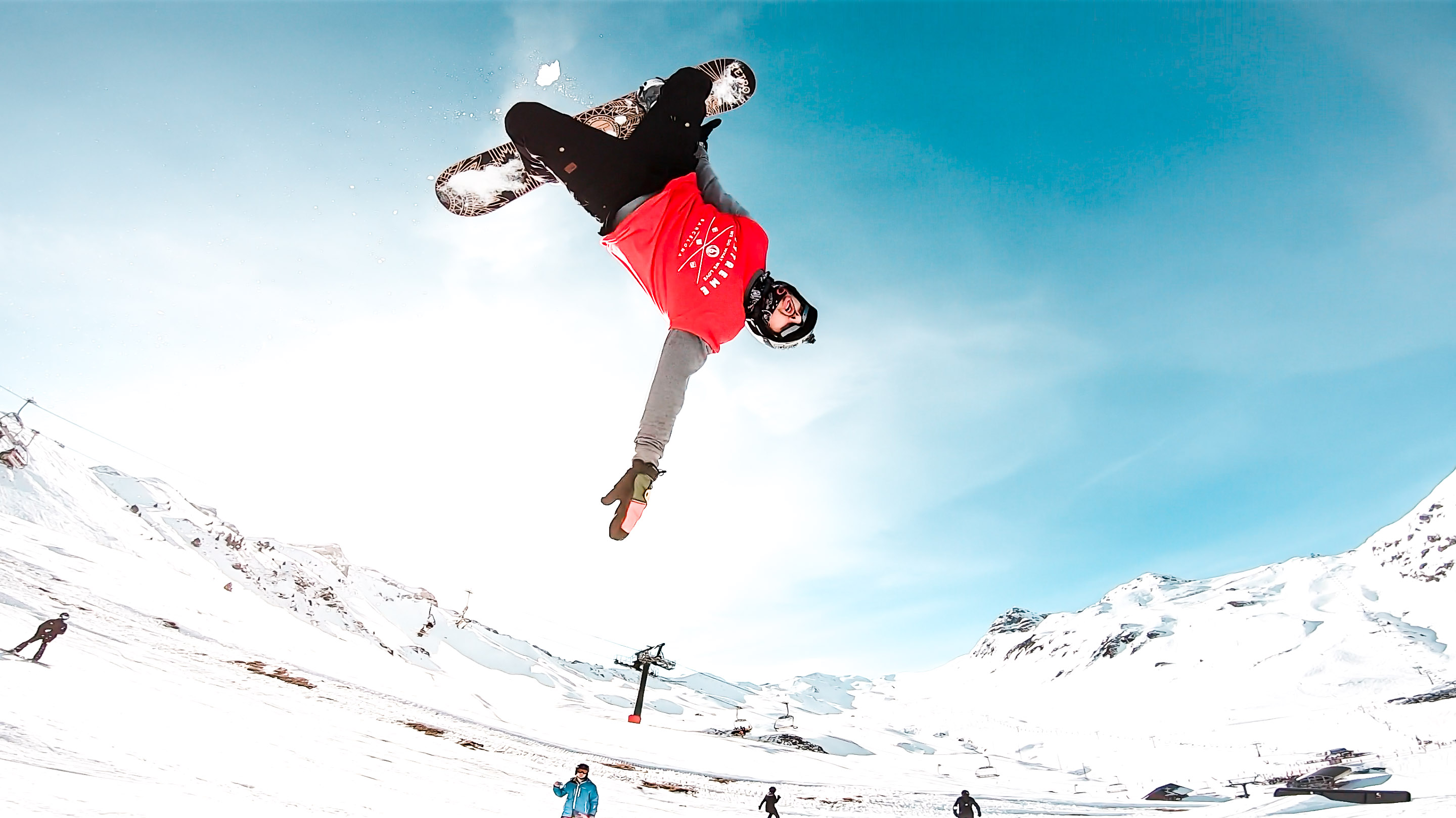 snowboard backflip