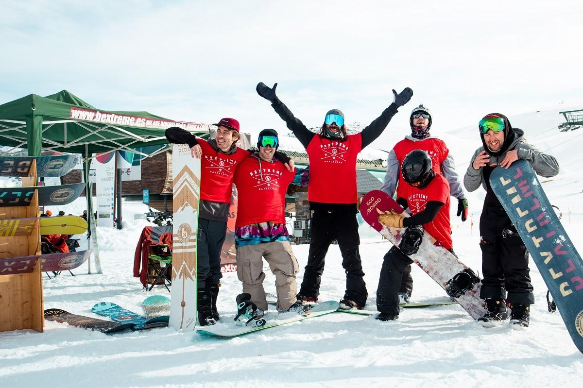 snowboard aniversario bextreme