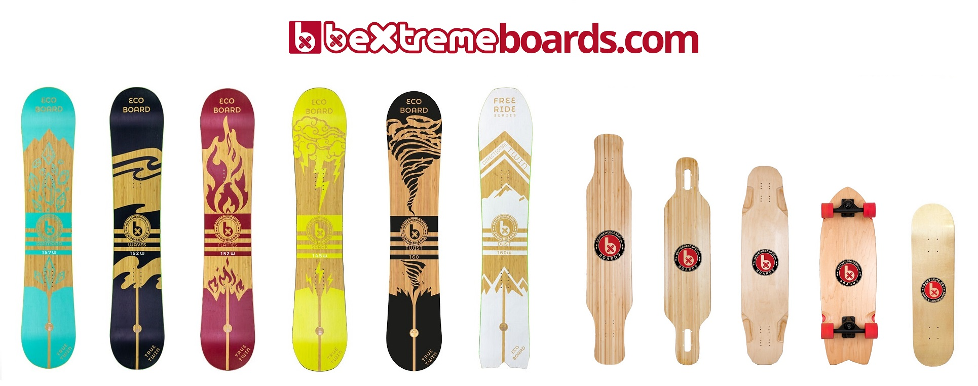 SNOWBOARDS-LONGBOARDS BEXTREME 2019