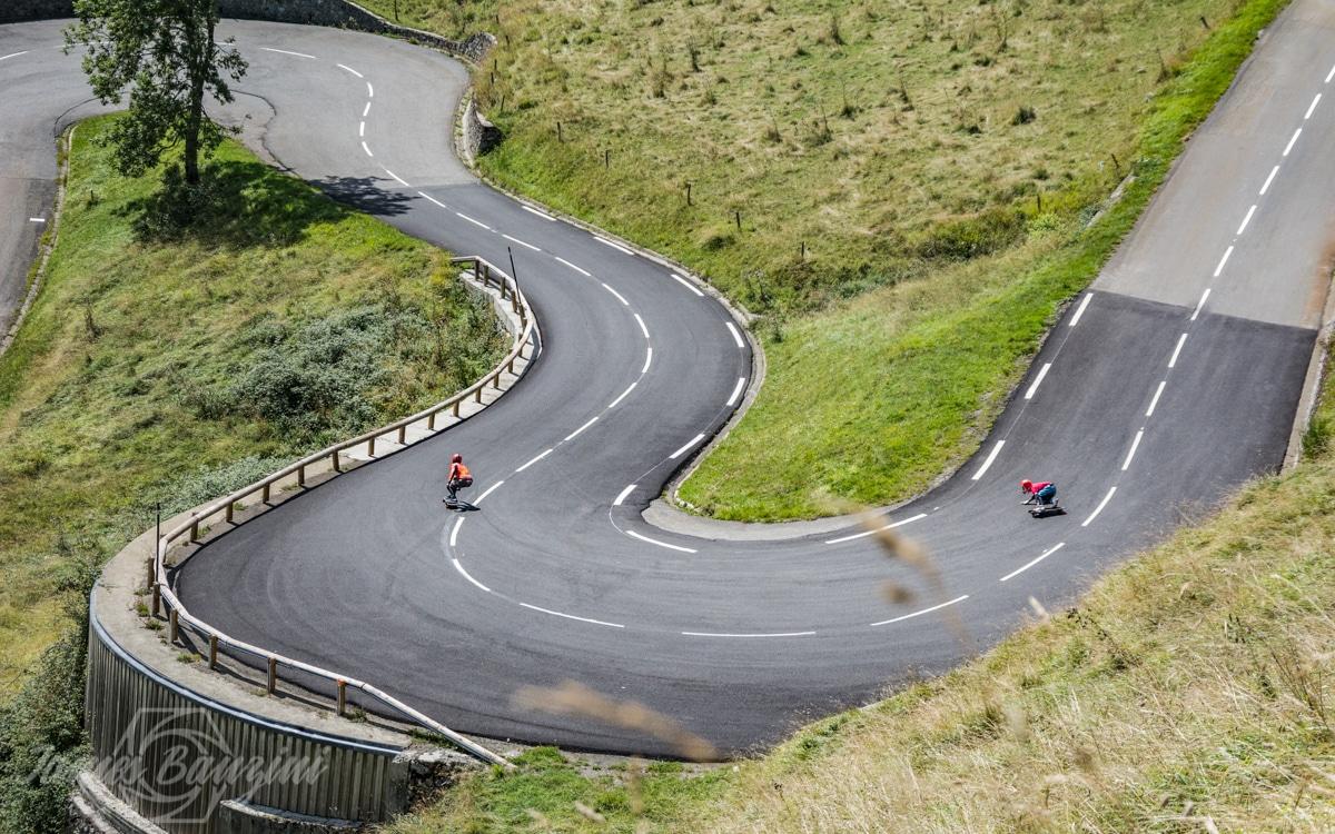 longboard downhill
