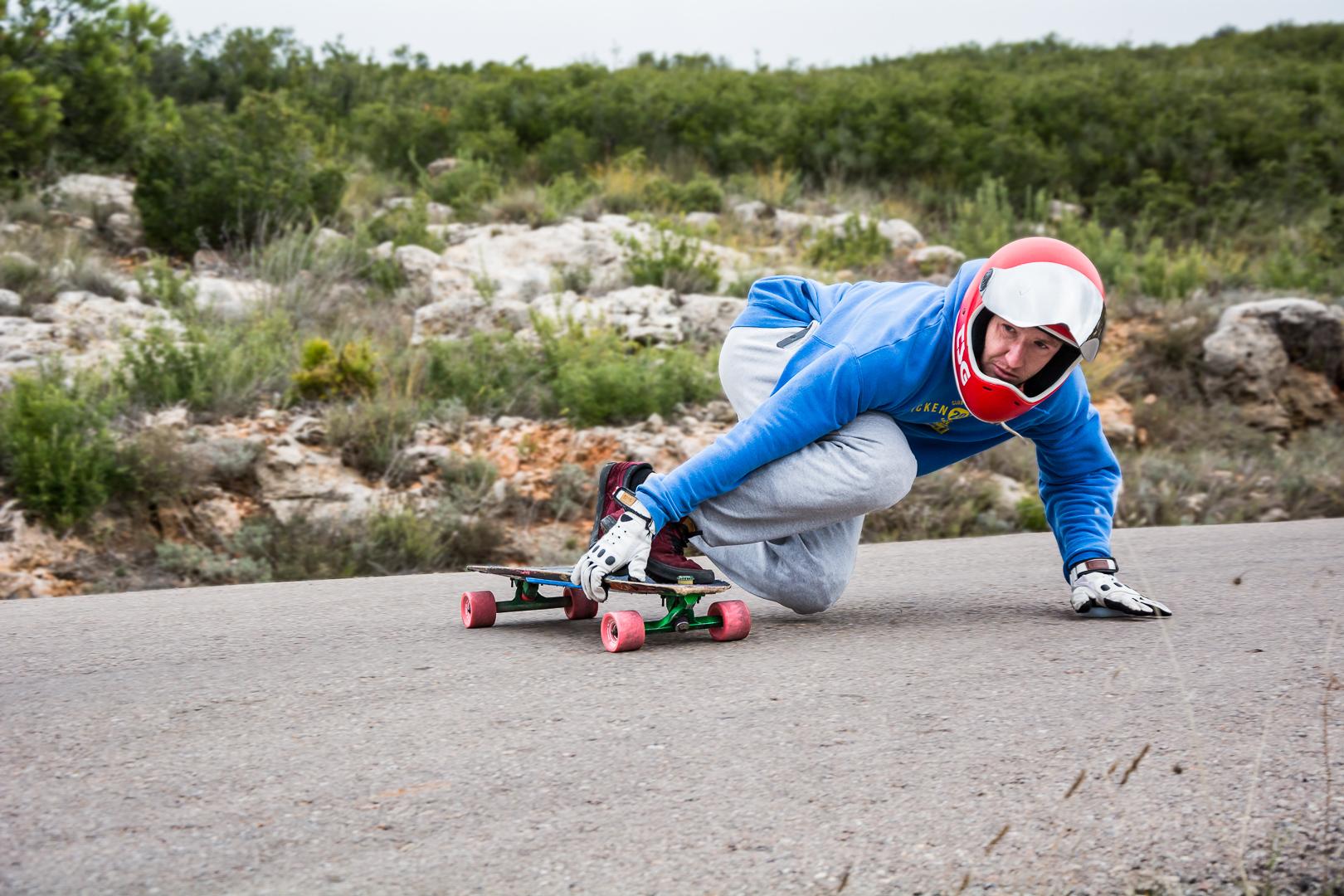 freeride y downhill longboard