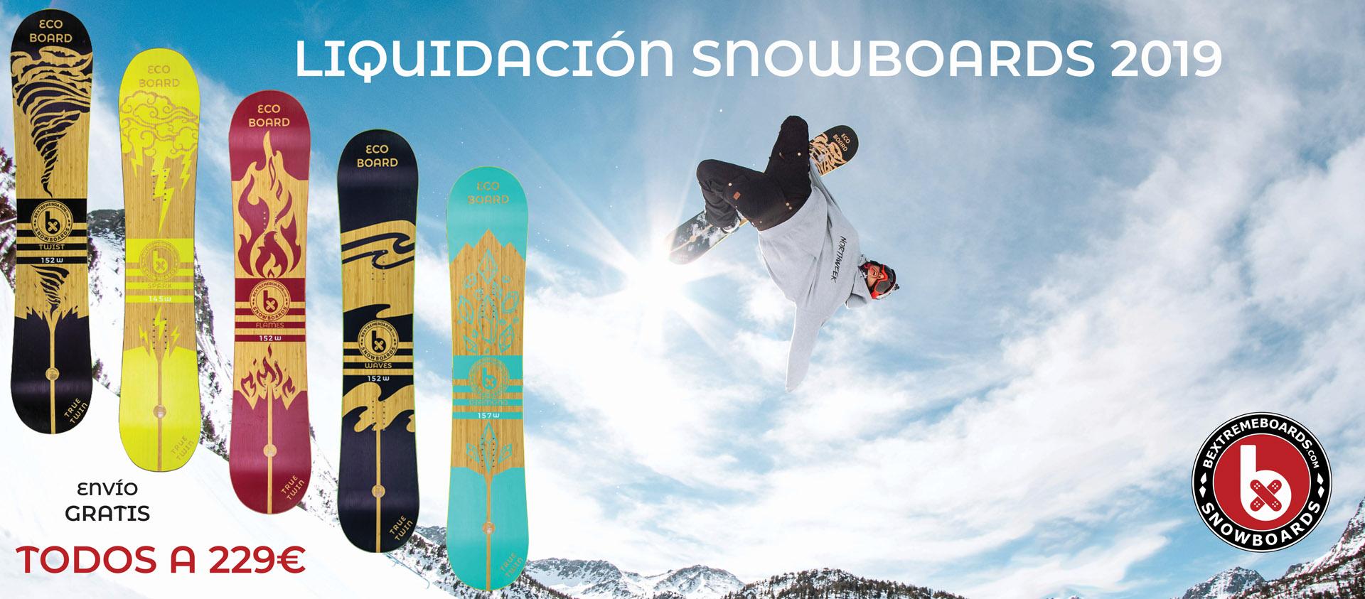 oferta tablas snow