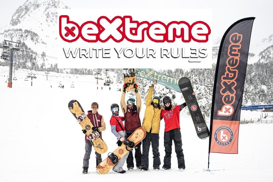 tablas snowboard bextreme