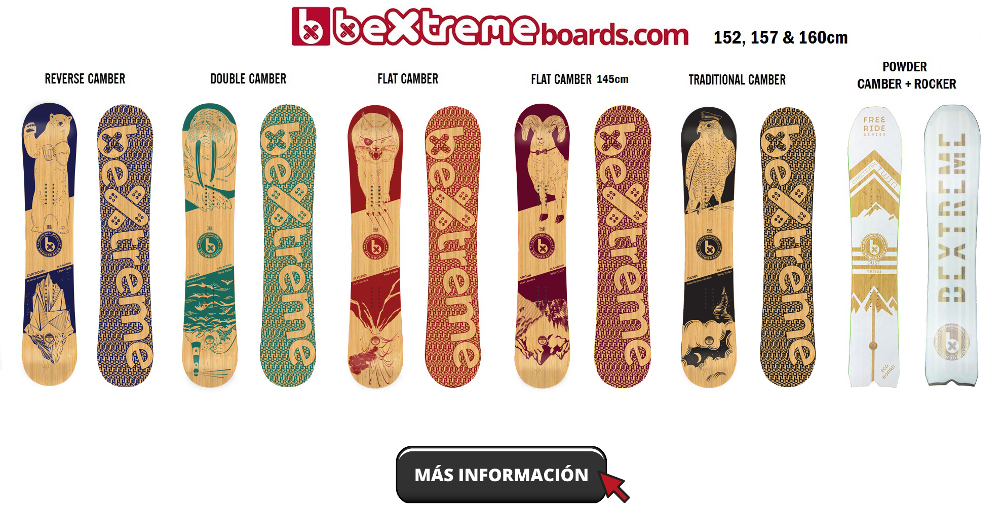 SNOWBOARDS BEXTREME 2020