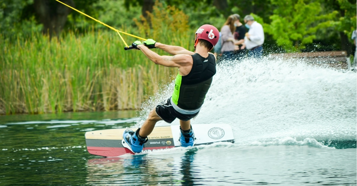 wakeboarding simple wake park