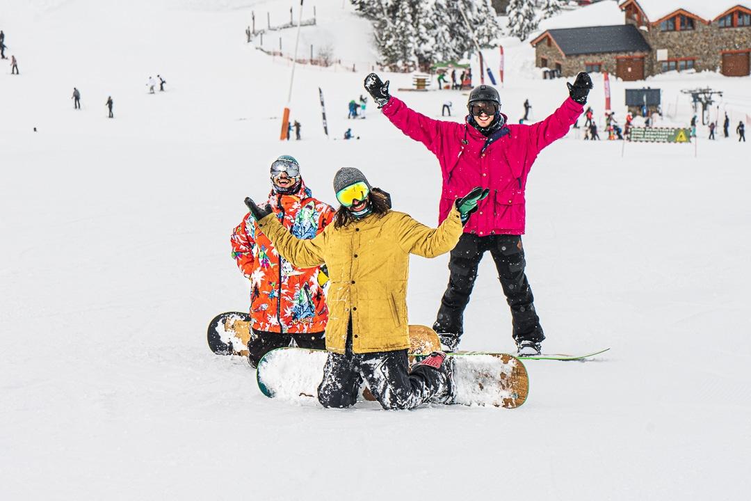 Team BeXtreme Snowboards en Grandvalira
