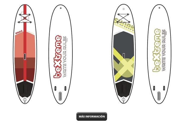 Tablas paddle surf hinchables baratas