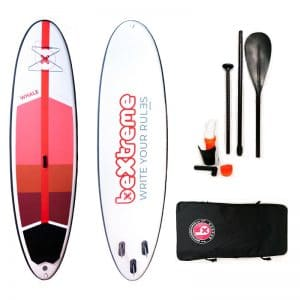 Kit tabla paddle surf hinchable bextreme whale