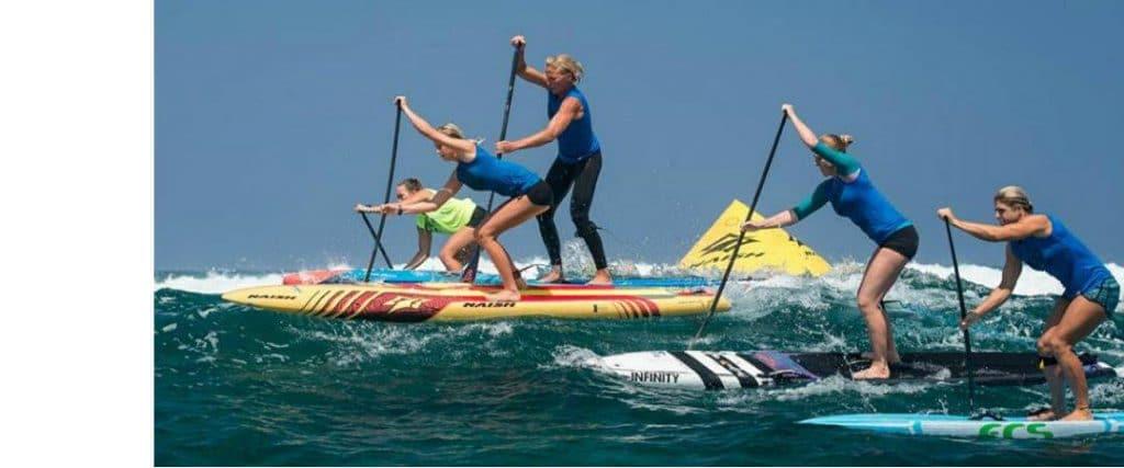 tablas paddle surf downwind