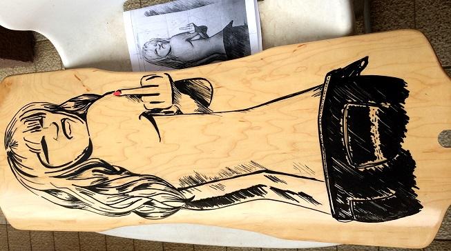 longboard personalizado